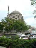 Mosque on the waterfront