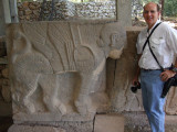 Bob with a sphinx
