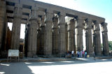 Hypostyle Hall - features 4 rows of 8 columns each