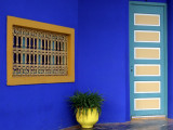 built by Jacques Majorelle in 1931, his paiting studio now houses the Museum of Islamic Art