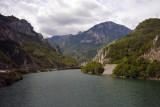 Neretva River, from the Sarajevo-Mostar road
