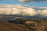 Clouds over Velez Mountain