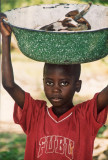 Boy with meat (Niger)