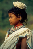 girl from the Dongaria kondh (Orissa - India)