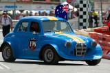 Replica of Peter Brock's first race car