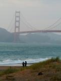 Golden Gate Bridge from Baker beach 05