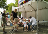 waiting for face painting
