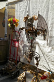 Demon with flowers Fred Conlon metal 01