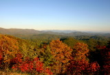 Fall At the Cohutta Mountains