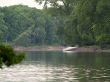 Mississippi River Rainy Day