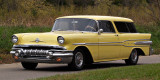 It is Indeed a  1957 Pontiac Safari Customl (Nomad)