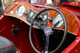 Dashboard of 1937 MG