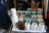 The clientelle's mugs