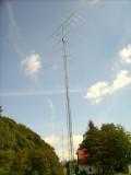 Rebuild of antennas after storm Kyrill