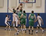 Seton Catholic Central High School's Boys Varsity Basketball Team versus Susquehanna Valley