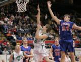 Seton Catholic Central High School's Boys Varsity Basketball Team versus Owego at The Stop DWI Tournament, Binghamton, NY
