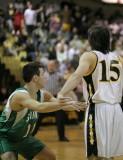 Seton Catholic Central High School's Varsity Basketball Team versus Windsor