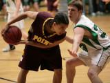 Seton Catholic Central High School's Varsity Basketball Team versus Whitney Point