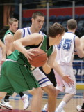 Seton Catholic Central High School's Varsity Basketball Team versus Horseheads in the STAC Tournament