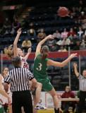 Seton Catholic Central's Girls Varsity Basketball Team versus Binghamton High School in the STAC Tournament