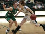 Seton Catholic Central's Girls Varsity Basketball Team versus Corning West HS in the STAC Tournament