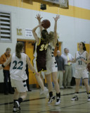 Seton Catholic Central's Girls Varsity Basketball Team versus Whitney Point HS in the Section Four Tournament