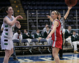 Seton Catholic Central's Girls Varsity Basketball Team versus Chenango Valley HS in the Section Four Tournament