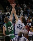 Seton Catholic Central's Boys Varsity Basketball Team versus Oneonta HS in the Section Four Tournament