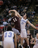 Sidney High School versus Candor in the Section Four Basketball Tournament