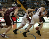 Charlotte Valley High School versus Chateaugay in the Class D Semifinals of the NYSPHSAA State Championship Tournament