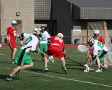 Seton Catholic Central's Boys Lacrosse Team versus Chenango Valley High School