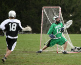 Seton Catholic Central's Boys Lacrosse Team versus Dryden High School