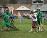 Seton Catholic Central's Boys Lacrosse Team versus Johnson City High School