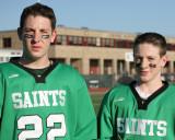 Seton Catholic Central's Boys Lacrosse Team versus Corning West High School
