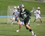 Corning West versus Chenango Forks in the Lacrosse Playoffs