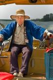 Boat guide in Hagi (Yamaguchi prefecture)