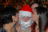 Saw Mommy kissing Santa Claus