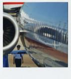 jet airliner man