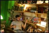 Behind the Desk at Greenman Music & Vinyl