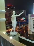 Caesar Overlooking Bally's