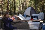 Camping at LaPine