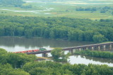 BNSF Bridge over Wisconsin River south of Praire du Chien