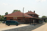 The Chicago, Milwaukee, St Paul & Pacific Depot at LaCrosse, Wisconsin