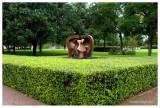 Side yard sculpture, Kimbell Art Museum, Ft Worth