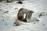 Crock pot on the beach