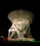 ALTAIR Radar antenna in motion