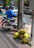 Jackfruits for sales, Saigon