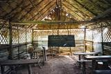 Akha school in village