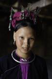 Young Lantien woman wearing a 'Celestial Crown'