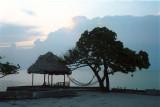 Storm over Belize City
